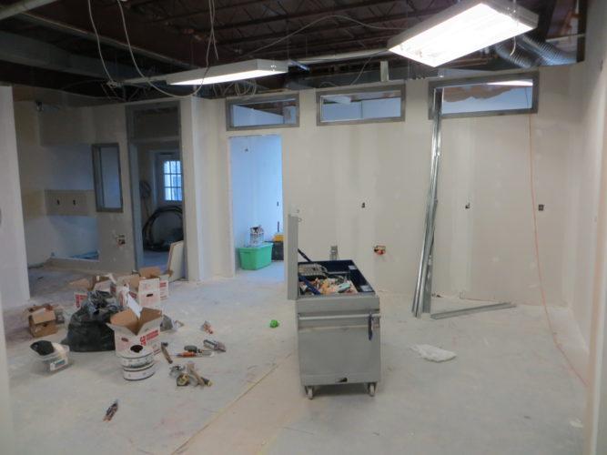 Salle de Traitement en construction